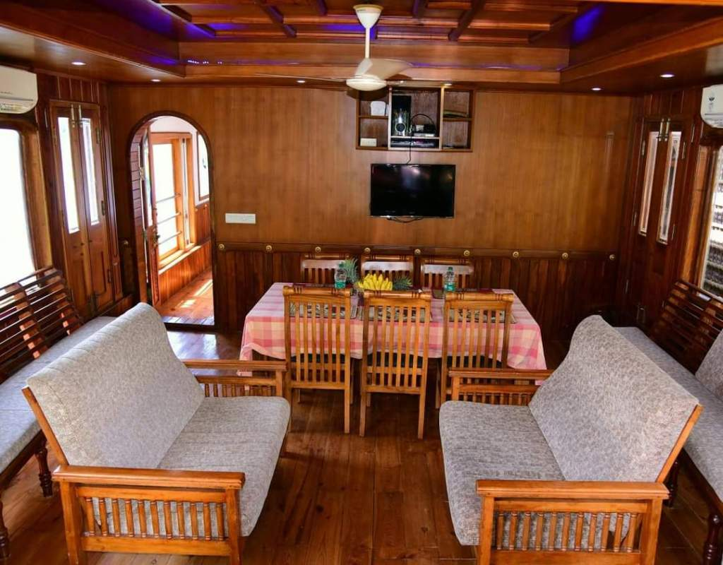 Dining Area of the Houseboat
